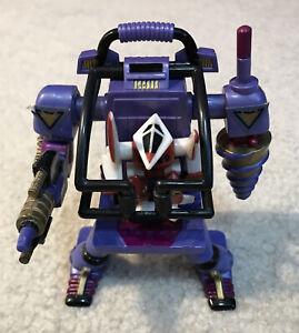 1993 Vintage Zbots MicroMachines Klobberizer Robo Wrecker Spyke Robot Figure Set