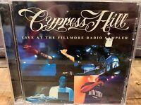Live Fillmore Radio Sampler by Cypress Hill (CD, PROMO Single)