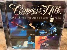 Live Fillmore Radio Sampler by Cypress Hill (CD, PROMO Single)