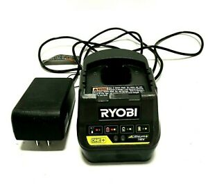 Ryobi ONE P118B 18V Battery Charger, Lithium Ion, Tested, Charger Only