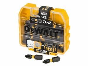 DEWALT DT70556T-QZ PZ2 25mm Torsion Impact Driver Screwdriver Bits - 25 Pack