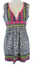 FREE PEOPLE Women's Multi-Color Paisley Empire Waist Dress Sz 6 NWOT
