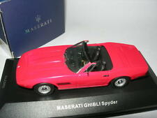 Ixo Models 1:43 CLC 052 Maserati Ghibli Spyder Red 1969 NEW