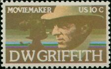 """#1555a """"D.W. GRIFFITH"""" BROWN ENGRAVINGS OMITTED MAJOR ERROR BP8142"""