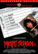 "NIGHT SCHOOL(1980)LBX ""RACHEL WARD"" WARNER ARCHIVE COLLECTION (DVD)"