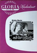 Angelique und der König Werberatschlag Gloria Michele Mercier Robert Hossein