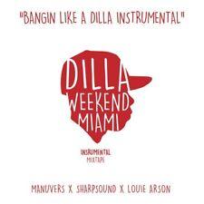 J DILLA Bangin' Like A Dilla Instrumentals 2x LP NEW VINYL Jay Dee Pharcyde Slum