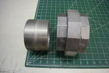 "4"" Hubbell Killark GUF-0 Aluminum Conduit Union Female x Female w/ Male Nipple"