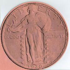 Vintage Unused Liberty Standing Quarter Folder for all 1916-1930 Coins