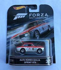 Hot Wheels Forza Alfa Romeo Guilia Sprint GTA Super Speciale GT Italy Spider