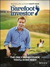 NEW, SCOTT PAPE. THE BAREFOOT INVESTOR. THE ONLY MONEY GUIDE. 2017 UPDATED