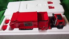 FIRST GEAR WASTE MANAGEMENT SIDE LOAD REFUSE TRUCK 1/34 #10-3600 RAY BROS LIVERY