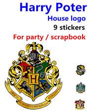 Harry Potter house logo badge Hogwarts Gryffindor Hufflepuff Ravenclaw slytherin