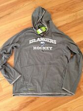 NY Islanders Reebok 113FA TNT Lightweight Pullover Hood  - New With Tags Size XL