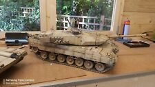 Heng Long 1/16 Leopard 2a6 russe t90 RC Modèle Tank CUSTOM PAINTED