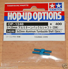 Tamiya 54248 3x23mm Aluminum Turnbuckle Shaft (2 Pcs.) (TA06/XV-01/FF03), NIP