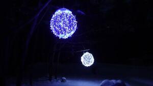 """30"""" LED Lighted Art Landscape Balls Decoration"""