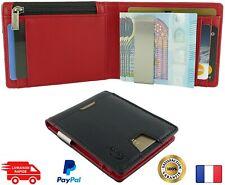 Portefeuille homme rfid protection - Porte cartes bancaires avec coffret cadeau