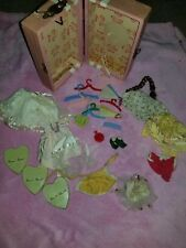 VINTAGE VOGUE GINNY DOLL CASE WITH CLOTHES AND ACCESSORIES