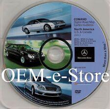 2005 2006 Mercedes Benz SLK350 SLK55 AMG SLK Class Navigation DVD Map U.S Canada