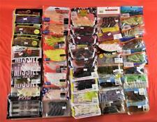 Lot of 41 Pkg Trailers & Craws Yamamoto Lake Fork Reaction Missile + Mixed Lot