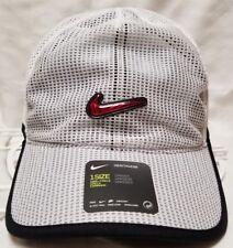 Nike Spiridon Dri-fit S+ cap hat heritage 86 unisex NWT NEW white/red/black