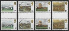 1979 Complete Double Set of Four Gb 200th Anniversary of Derby Mnh, Og *Vf-Xf*