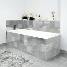 Bath Panels Printed on Acrylic - Grey Tiles Acrylic
