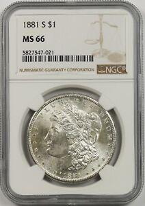 1881-S $1 NGC MS 66 Morgan Silver Dollar