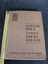 Catalogo parti di ricambio autocarro Fiat 680 N autobus 680 RN RNU 2°ediz italy