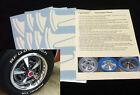 Pontiac GTO Rally II Wheel Paint Mask Stencil Kit for 14 rim