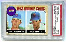 1968 TOPPS #177 NOLAN RYAN JERRY KOOSMAN RC ROOKIE PSA 5 (OC) B4083918