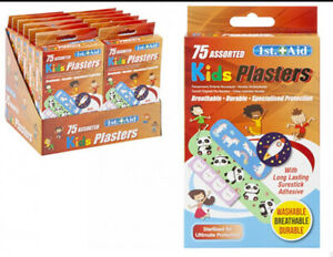 🔥Plasters Bandage Children Kids Breathable Waterproof Assorted Protect Sterile