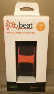 OT Beat Orange Theory Fitness Mio LINK Heart Rate Replacement Wristband Size L