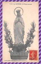 Carte Postale - Lourdes - la vierge couronnée