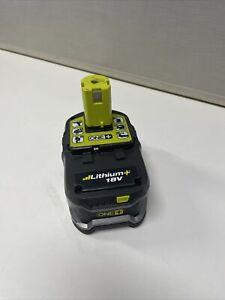Ryobi 18v RB18L40 ONE+ Lithium+ 4.0Ah Li-ion Battery With Charge Level Indicatir