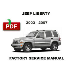 automotive pdf manual ebay stores rh ebay com Jeep Liberty CRD Fuel Economy Ford Escape vs Jeep Liberty