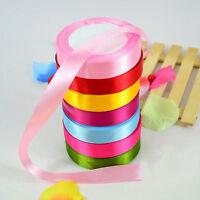 """25 Yards 1""""(25mm) Satin Ribbon Wedding Party Craft DIY Hair Bow Garden Xmas Hot"""