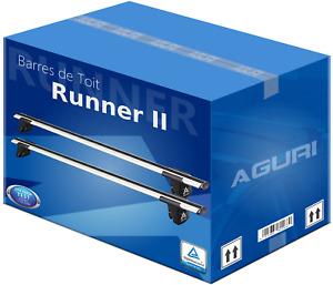Audi Q7 06-14 Universel Barres de Toit Aluminium Aérodynamique Aguri Runner II