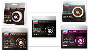 GODREJ EXPERT Rich Crème Herbal Hair Colour Color No Ammonia Includes Developer