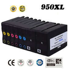 8 Pack ink cartridges for HP 950XL 951 XL OfficeJet Pro 8100 8600 8610 8620 8630