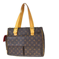 Auth LOUIS VUITTON LV Multipli Cite Shoulder Bag Monogram Leather M51162 74MF246