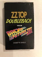 Rare Vintage Back To The Future III ZZ Top Music Cassette Tape Single Doubleback
