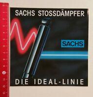 Aufkleber/Sticker: Sachs Stossdämpfer (04031750)