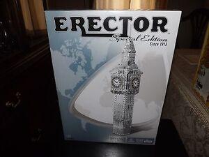 ERECTOR SPECIAL EDITION, BIG BEN, 1085 PARTS, #6024853, NEW IN BOX, 2014