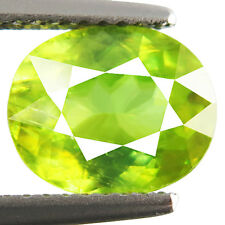 2.76ct 100% Natural earth mined rare aaa multi color sphene/titanite from russia