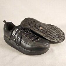 Skechers Shape-Ups Work 76567 Non-Slip EH Black Toning Sneakers Women's Sz 9.5