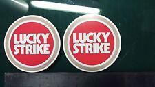 2x Lucky Strike, Motorcycle, Car, Gilera, yamaha Racing Sticker Printed Vinyl