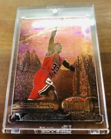 1997-98 Skybox Metal Universe Scottie Pippen Base Card #83 MINT Condition Rare!