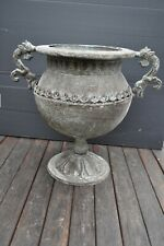 Antique Look and Feel Bulb Shaped Urn